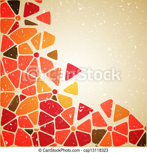 Flower abstract background. - csp13118323