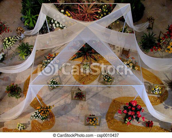 Flower arrangement - csp0010437