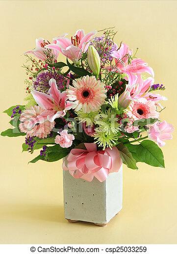 Flower arrangement - csp25033259