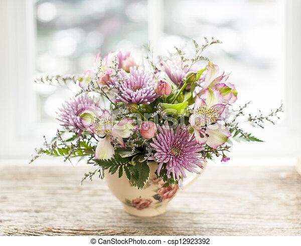 Flower arrangement - csp12923392