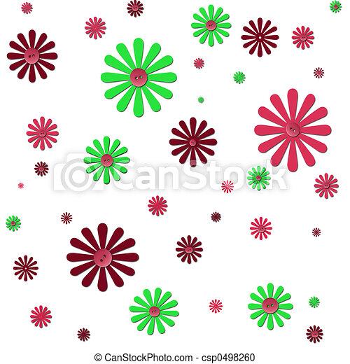 flower background - csp0498260