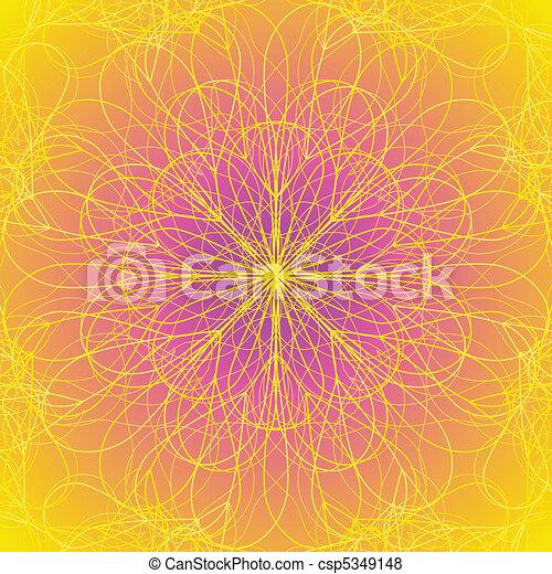 Flower background - csp5349148