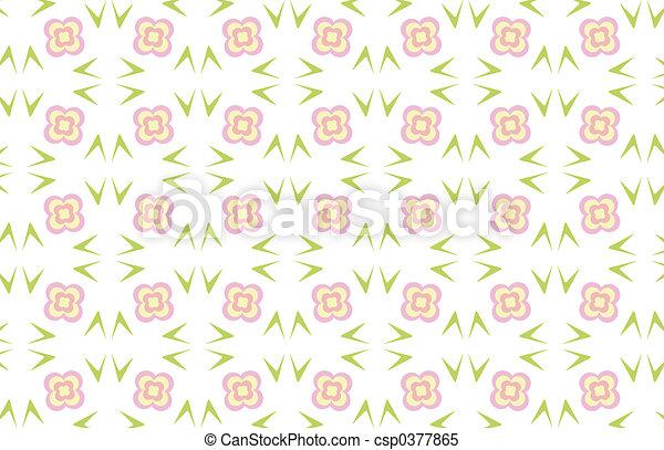 Flower background - csp0377865