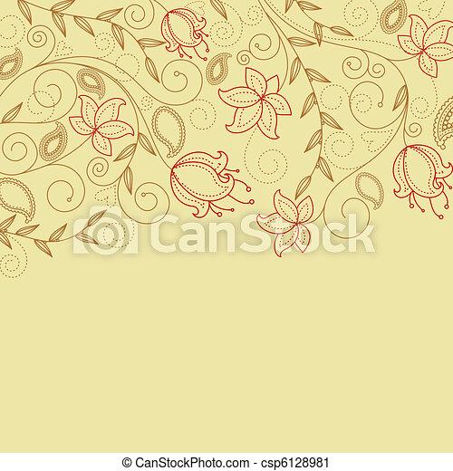 Flower background - csp6128981