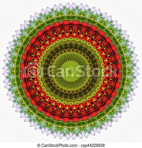 flower bouquet abstract 3 - csp44226838