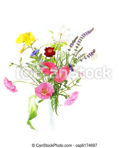 Flower bouquet - csp6174697