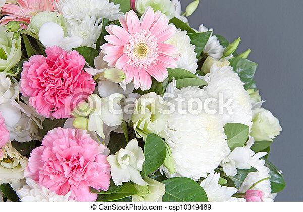 flower bouquet - csp10349489