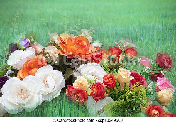 flower bouquet - csp10349560