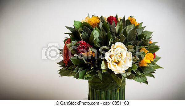 Flower bouquet - csp10851163