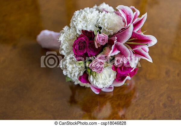 Flower bouquet - csp18046828