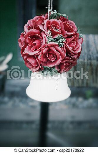 flower bouquet - csp22178922