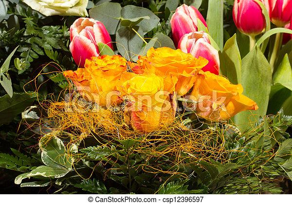Flower Bouquet - csp12396597