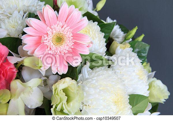 flower bouquet - csp10349507