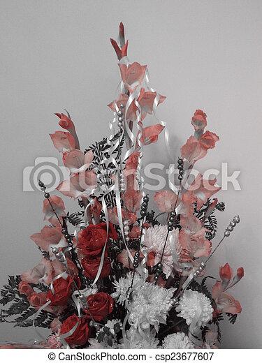 Flower bouquet - csp23677607