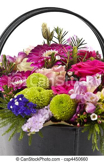flower bouquet - csp4450660