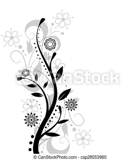 flower design - csp28553960