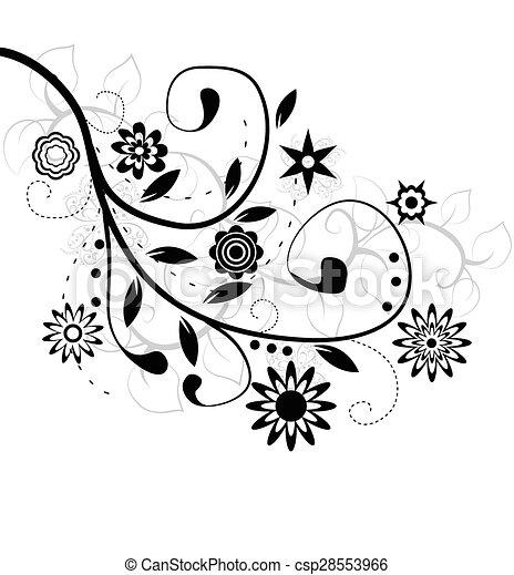 flower design - csp28553966