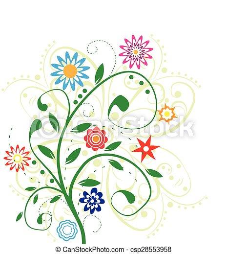 flower design - csp28553958