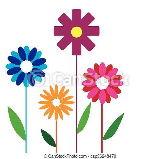 flower design - csp36248470