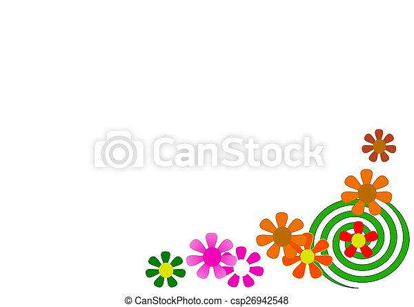 Flower for back ground - csp26942548