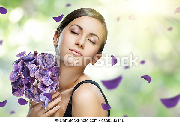 flower girl - csp8533146