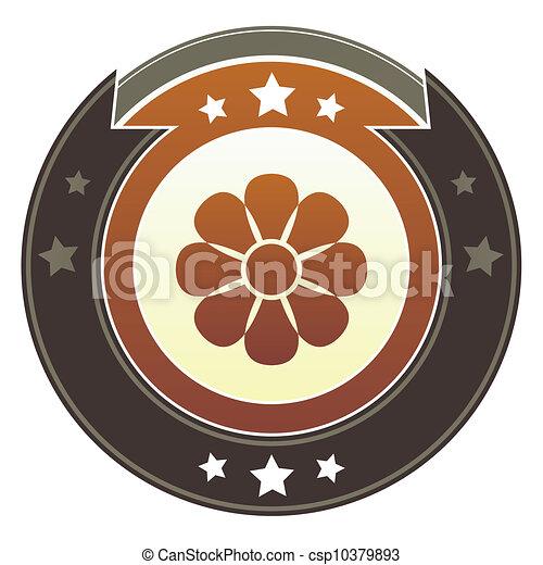 Flower imperial button - csp10379893