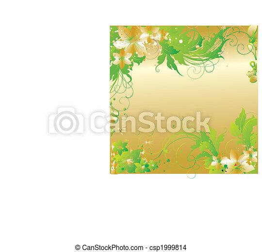 Flower ornament - csp1999814