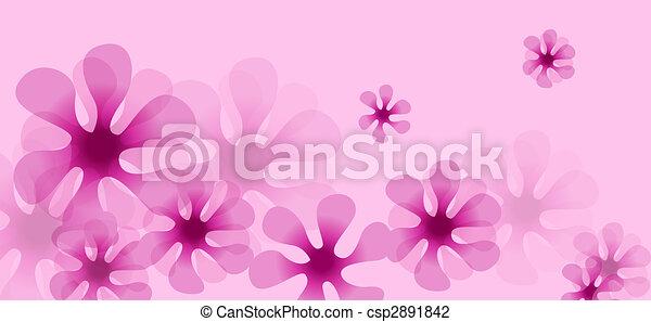 Illustration drawing of beautiful pink flower pattern flower pattern csp2891842 mightylinksfo