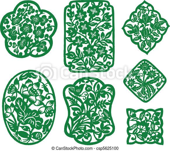 flower pattern design  - csp5625100