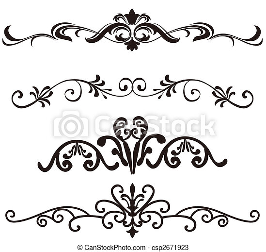 flower pattern - csp2671923
