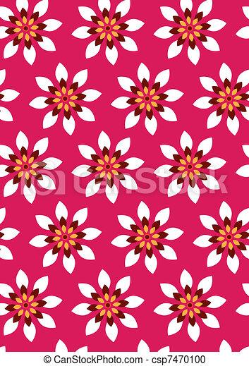 flower pattern wallpaper vector clipart search illustration rh canstockphoto ca flower pattern vector background flower pattern vector background