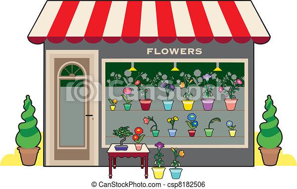 Flower shop - csp8182506
