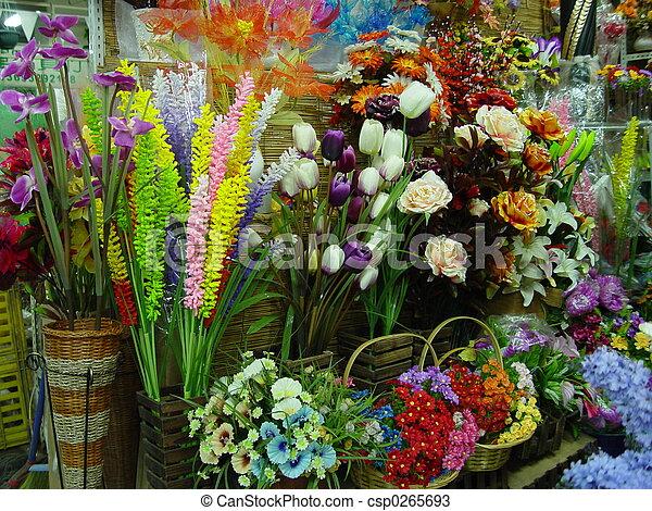 Flower shop - csp0265693