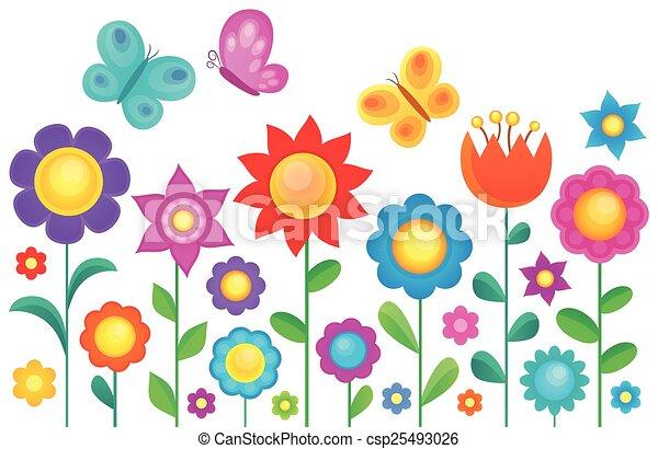 Flower topic image 1 - csp25493026