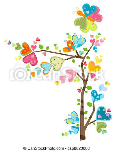 flower tree - csp8820008