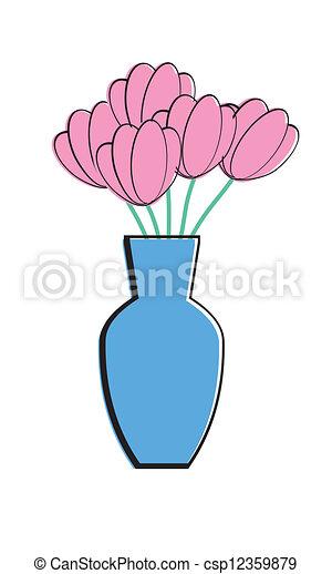Flower Vase Tulip
