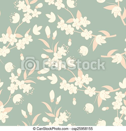 flowers., árvore, coloridos - csp25958155