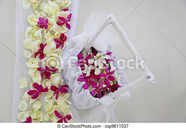 flowers., 結婚式 - csp9611537