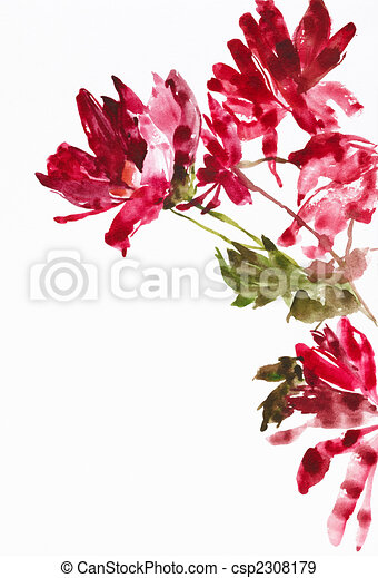 flowers as background - csp2308179