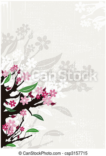 Flowers background - csp3157715