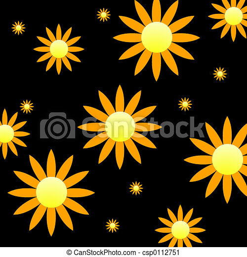Flowers - Background - csp0112751