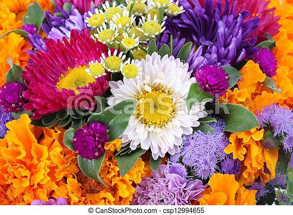flowers background - csp12994655