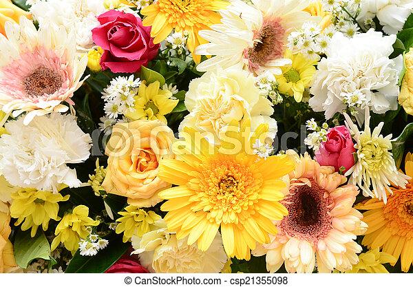 Flowers background - csp21355098