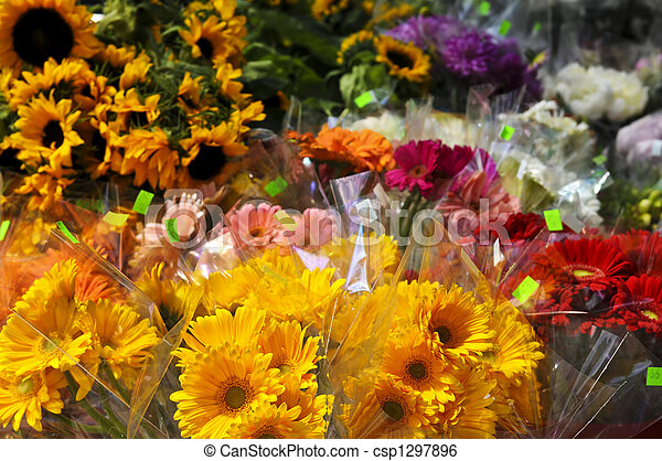 Flowers for sale - csp1297896