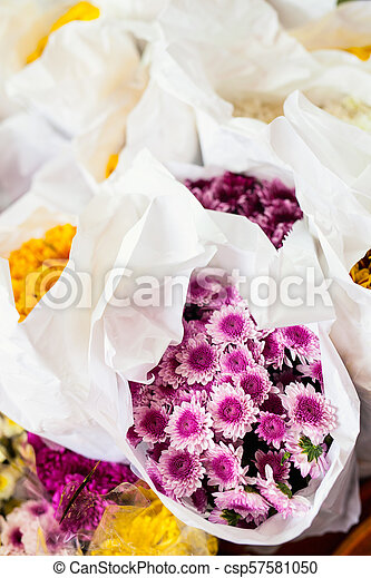 Flowers for sale - csp57581050