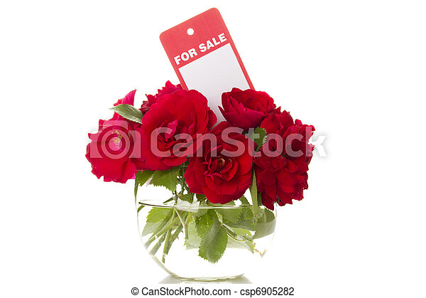 Flowers for sale - csp6905282