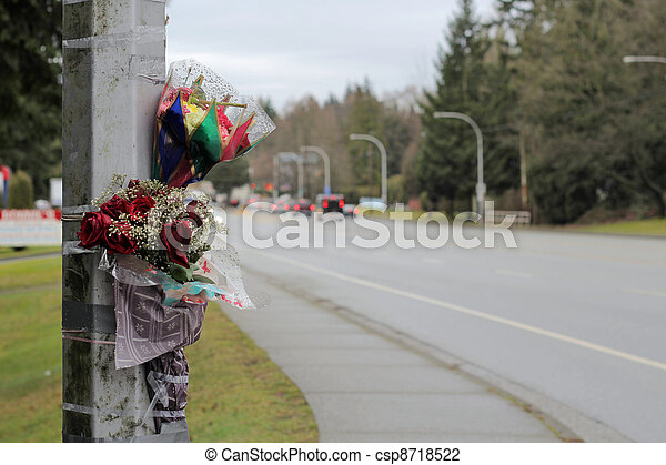 Flowers In Remembrance - csp8718522