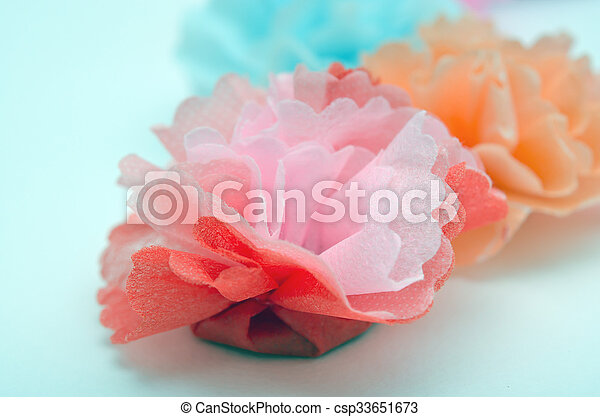 Flowers made from paper craftwork colorful paper craftwork of flowers flowers made from paper craftwork csp33651673 mightylinksfo