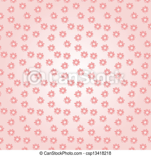 flowers pattern - csp13418218