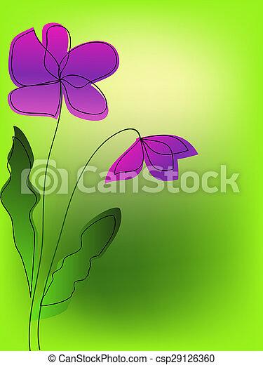 flowers - csp29126360